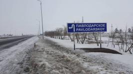 Жители села Павлодарское спросили, когда у них появится центральный водопровод