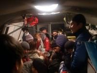 Около 80 пассажиров автобуса спасли от холода в Павлодарской области