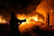 Два ребенка погибли при пожаре в селе Щербакты