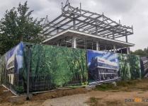 В Павлодарском филиале ForteBank объяснили, почему площадь стройплощадки в парке Денсаулык увеличилась