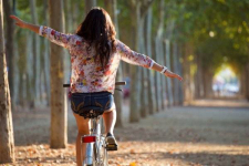 Сельчанка уехала на чужом велосипеде в Павлодарской области