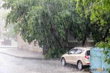 Грозы и ливневые дожди придут в Павлодар в ближайшие дни