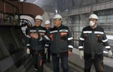 Аким Павлодарской области проверил готовность ТЭЦ к отопительному сезону