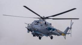 Боевые вертолеты в небе напугали жителей Павлодара