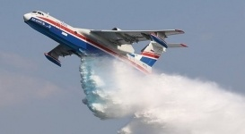 В Казахстане могут начать производство суперсовременных самолетов для тушения пожаров