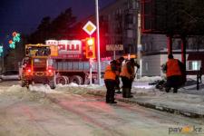 Павлодарские коммунальщики пообещали главе региона вычистить город от снега