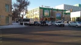ДТП с участием маршрутки произошло в Павлодаре