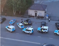 Семь полицейских машин преследовали пьяного водителя в Павлодаре