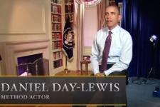 Обама сыграл звезду «Линкольна» в пародийном трейлере