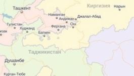 Киргизия закрыла КПП на границе с Таджикистаном