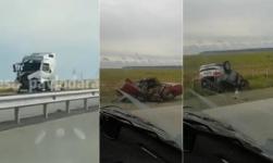 Два ДТП произошло на одном участке между Экибастузом и Павлодаром на разных направлениях