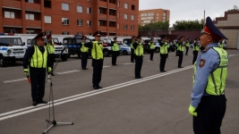 Павлодарским полицейским вернули жезлы