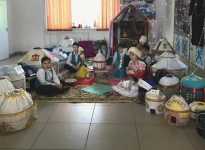Свыше двух тысяч юрт изготовили павлодарские школьники