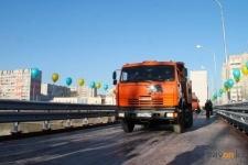 В Павлодаре состоялось открытие автомоста через реку Усолка