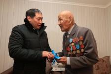 Накануне Нового года два ветерана ВОВ получили ключи от новых квартир в Павлодаре