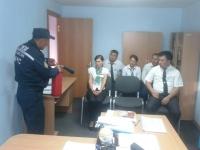 В Баянаульском районе для сотрудников ЦОН провели показательные учения