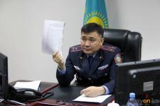 Павлодарцы могут задать вопросы главному полицейскому области