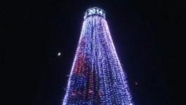 В Казахстане появилась первая электронная елка