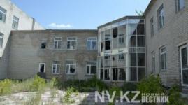 В Караганде разрушается здание школы-интерната