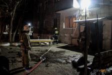В Павлодаре горящий мусор стал причиной вызова большого количества пожарных