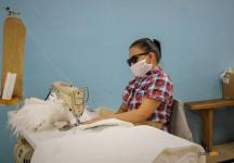 Павлодарка рассказала, как нашла работу, несмотря на потерю зрения