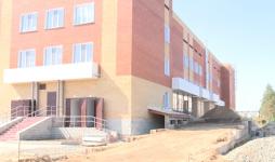 Строители озвучили новые сроки ввода в эксплуатацию инфекционного корпуса Павлодарской облбольницы