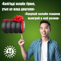 Зарегистрировав автомобиль на портале электронного правительства в августе, можно стать обладателем комплекта резины