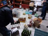 Сельский магазин продавал алкоголь без лицензии