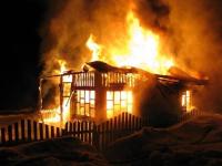 В пригороде Павлодара сгорел дачный домик