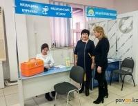 В павлодарском ЦОНе будет дежурить медицинский работник