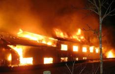 В Павлодарской области за минувшую ночь произошло три пожара