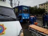 В Павлодаре дети попали под трамвай
