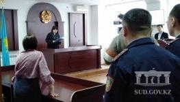К полумиллионному штрафу приговорили полицейского за взятку в 10 тысяч тенге
