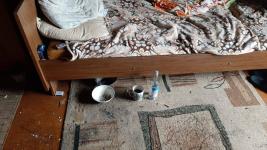 В Павлодаре при пожаре пострадали хозяева горевшей квартиры