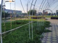 Светящуюся арку на проспекте Назарбаева в Павлодаре решили реанимировать