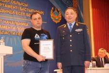 Павлодарские полицейские поощрили 16 жителей области за помощь в раскрытии преступлений и розыске без вести пропавших