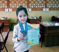 Десятилетняя павлодарская школьница стала серебряным призером областного чемпионата по шахматам