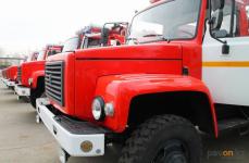 Новые пожарные машины получили лесники Павлодарской области