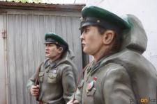 Декоративные скульптуры солдат из парка Воинской Славы отремонтировали павлодарские мастера