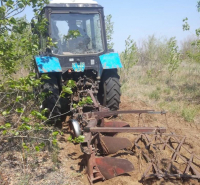 Работники лесхоза занялись профилактикой лесных пожаров в Павлодарской области