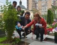 Капсулу с землей с места захоронения Жусупбека Аймауытова установят возле его памятника в Павлодаре