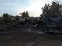 В областном ДЧС рассказали о состоянии пожарных, пострадавших при тушении бензовоза