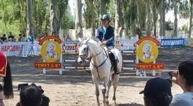 Казахстанец занял 2 место на этапе Кубка мира по конному спорту