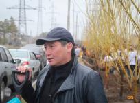 В зеленом поясе Павлодара высадят 2000 саженцев пирамидального тополя
