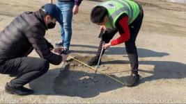 Эксперты изучили качество асфальта на дорогах в Аксу