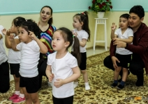 О необычных методах укрепления детского здоровья рассказали в павлодарском дошкольном учреждении