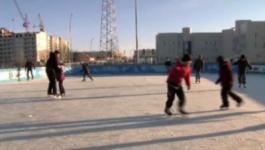 В Павлодаре залили рекордное количество катков