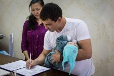 В преддверии 7 мая два будущих защитника Отечества в Павлодаре получили свидетельства о рождении