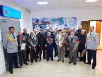 Ветеранов войны и тружеников тыла поздравили павлодарские полицейские