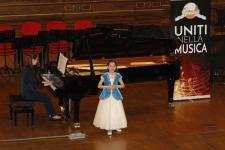 Павлодарская школьница спела в Риме